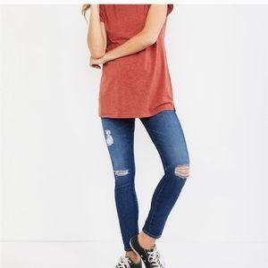 AG ADRIANO GOLDSCHMIED • Skinny Maternity Jeans
